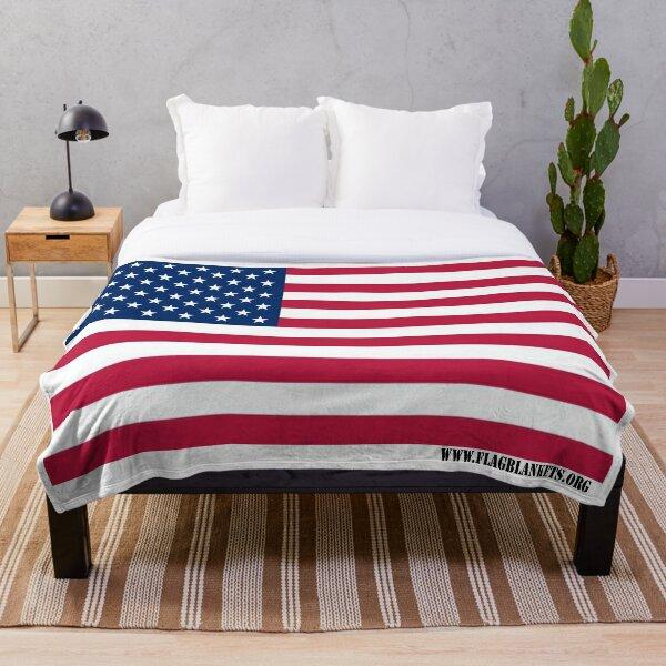 ORIGINAL - FLAG BLANKETS Throw Blanket