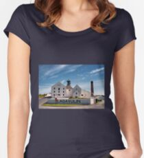Islay: Lagavulin Women's Fitted Scoop T-Shirt