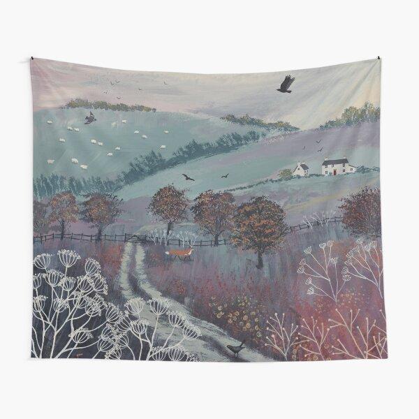 Autumn Dusk Tapestry