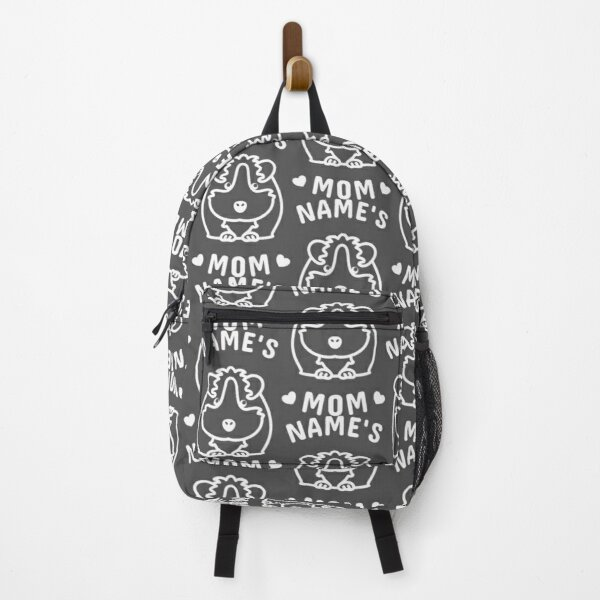 Personalized Guinea pig Mom Backpack
