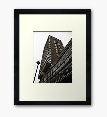 Tower block Framed Print