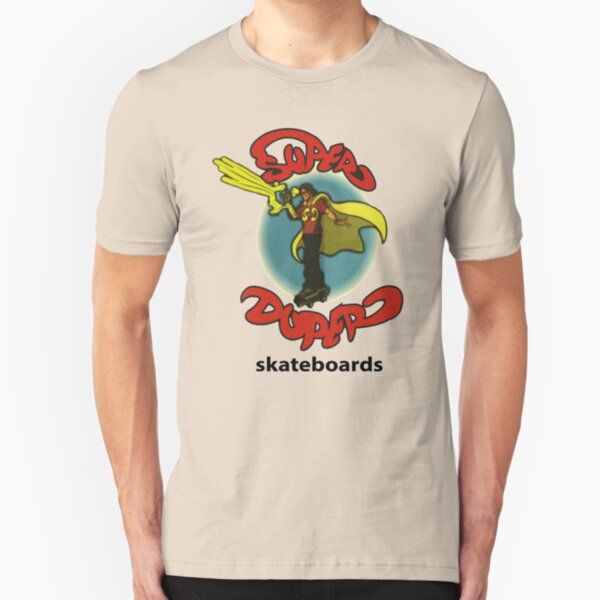 Super Duper Skateboards Slim Fit T-Shirt