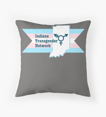 Indiana Transgender Network Throw Pillow