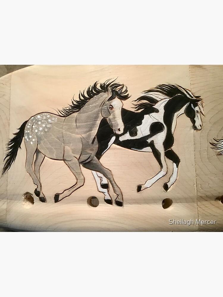 Horse drums  by SpiritArt777