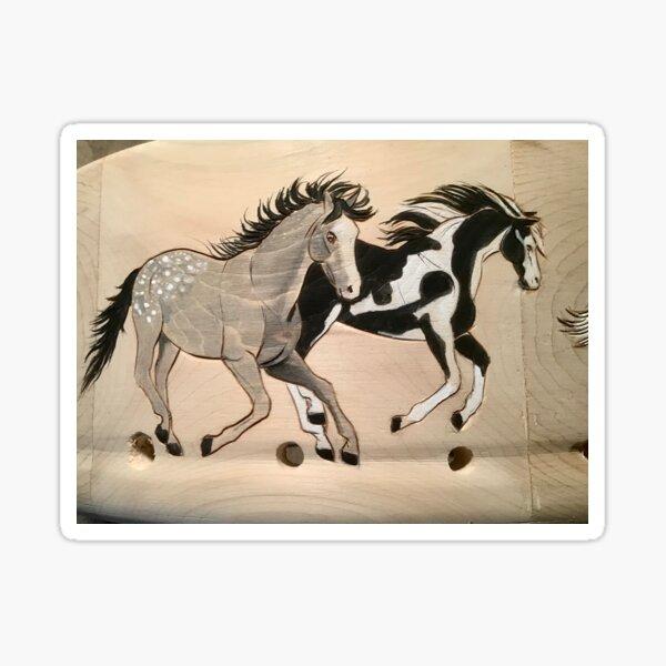 Horse drums  Sticker