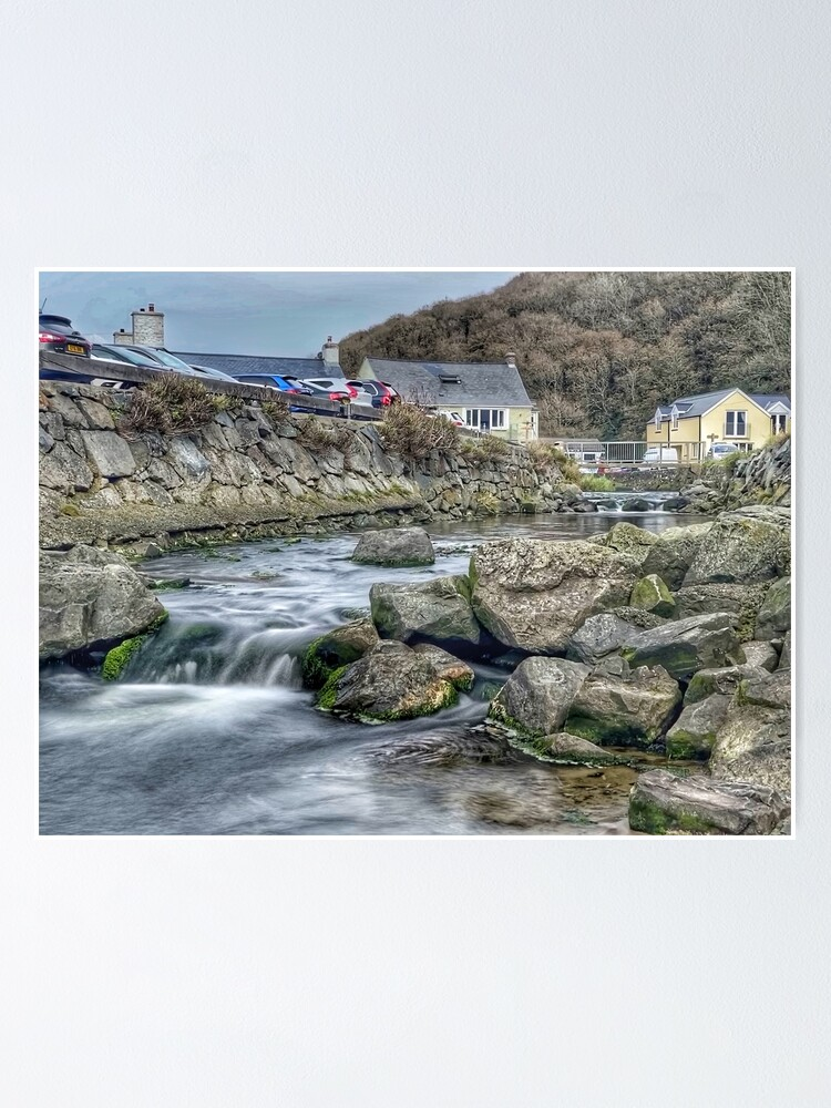 Alternate view of Coastal Stream long exposure 1 Poster