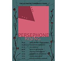 Persephone Rising tour poster Photographic Print