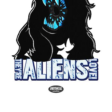 Attack The Block Alien by andysocial