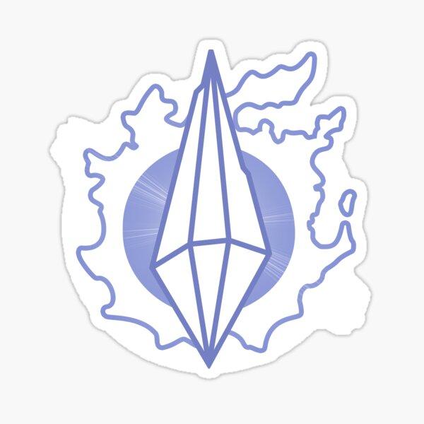 FFXIV Europe Logo Sticker
