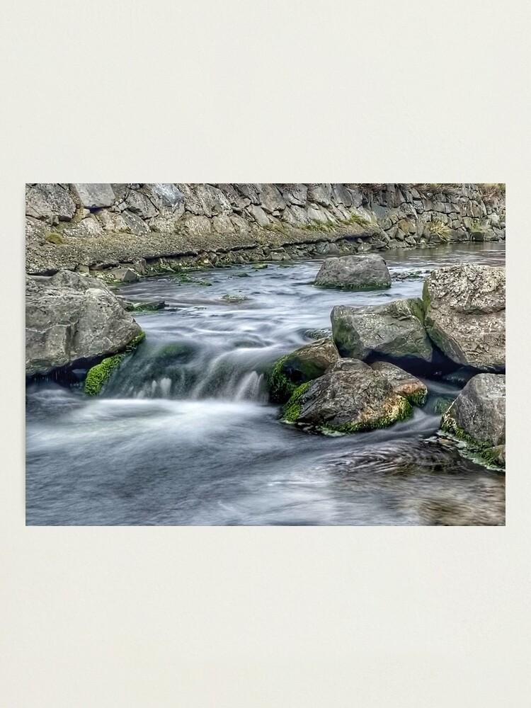 Alternate view of Coastal Stream long exposure 2 Photographic Print