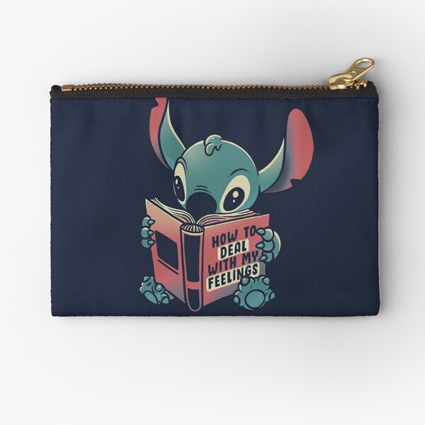 How to Deal With My Feelings Funny Book Alien Zipper Pouch