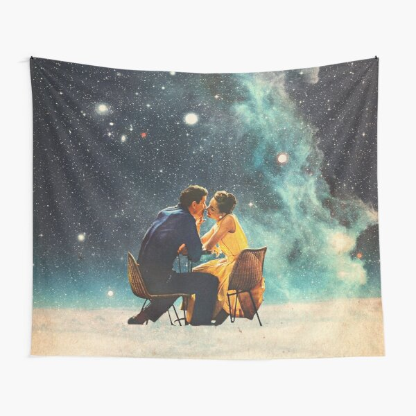 I'll Take you to the Stars for a second Date Tapestry