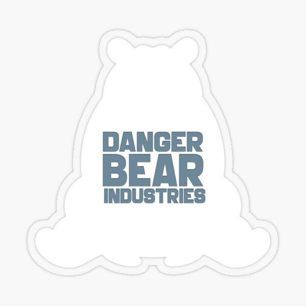 Polar Bear from Danger Bear Industries Transparent Sticker