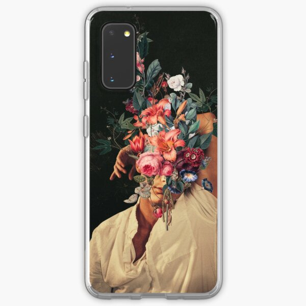 Jedes Mal, wenn ich an dich dachte, blühten Rosen Samsung Galaxy Flexible Hülle