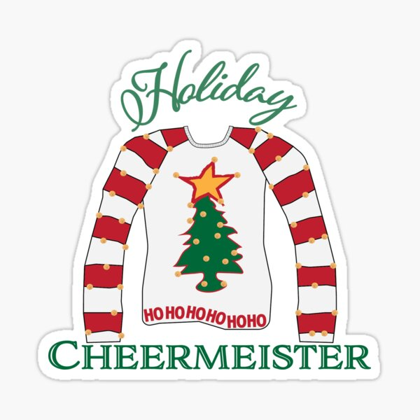 The Holiday Cheermeister Sticker