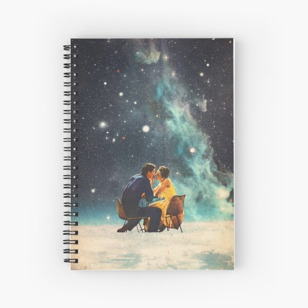 I'll Take you to the Stars for a second Date Spiral Notebook