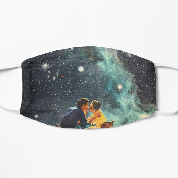 I'll Take you to the Stars for a second Date Flat Mask