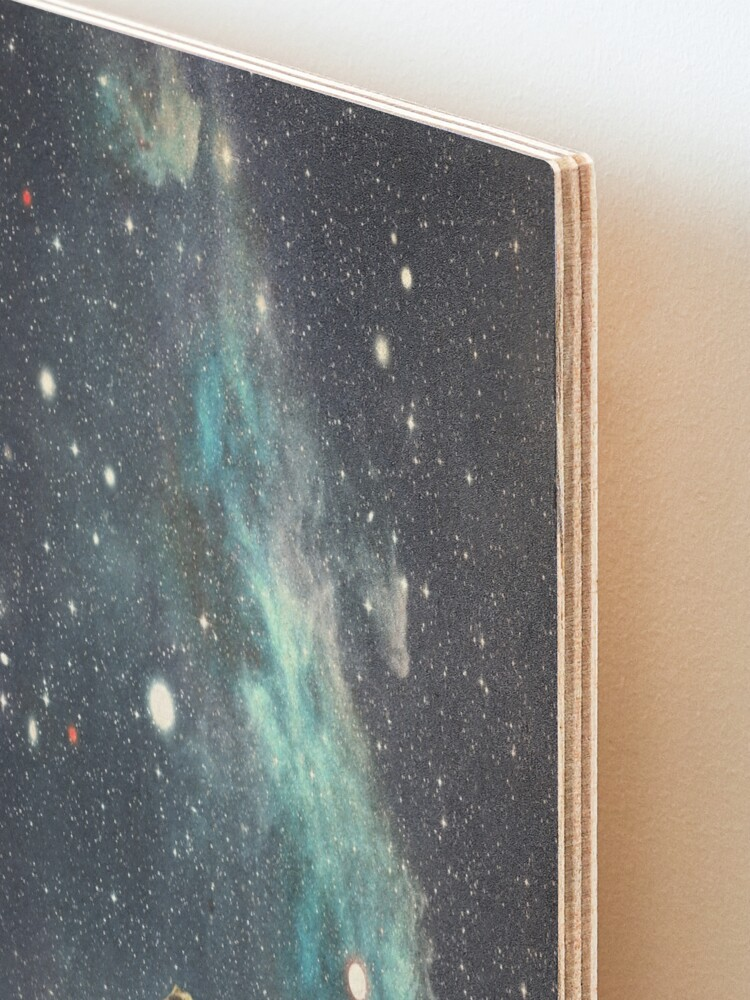 Alternate view of I'll Take you to the Stars for a second Date Mounted Print
