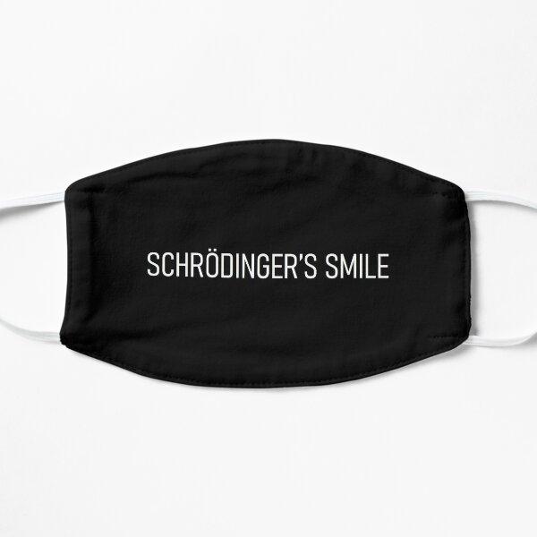 schrödinger's smile - v1 Flat Mask