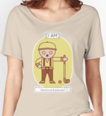 The Technical & Precise Women's Relaxed Fit T-Shirt