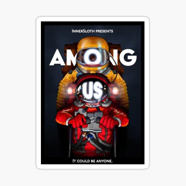 Among Us Game The Film Pegatina