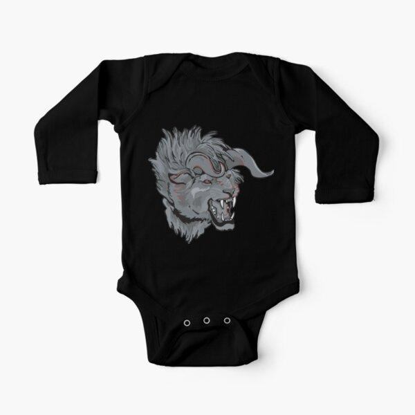 Behemoth Long Sleeve Baby One-Piece