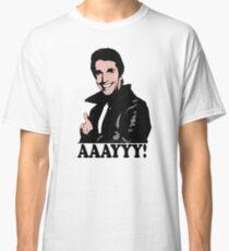 The Fonz Happy Days Aaayyy! T-Shirt Classic T-Shirt
