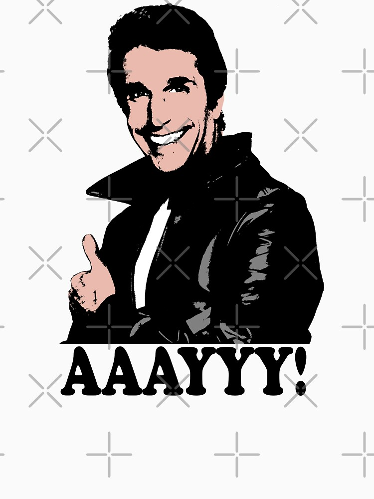 The Fonz Happy Days Aaayyy! T-Shirt by theshirtnerd
