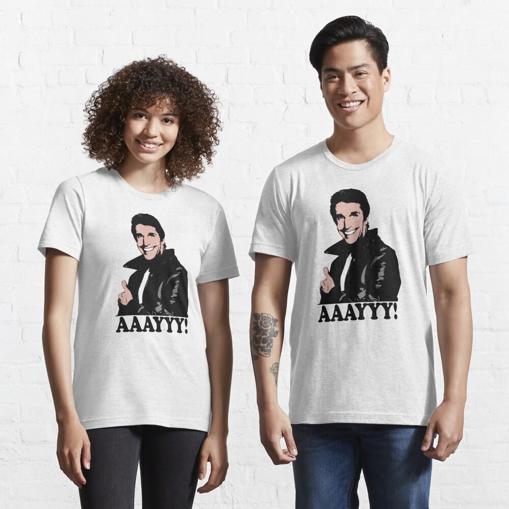The Fonz Happy Days Aaayyy! T-Shirt Essential T-Shirt