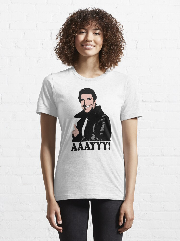 Alternate view of The Fonz Happy Days Aaayyy! T-Shirt Essential T-Shirt