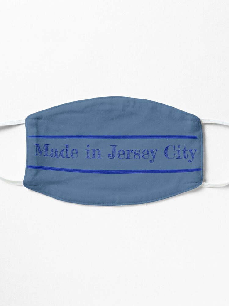 Alternate view of Made in Jersey City Mask