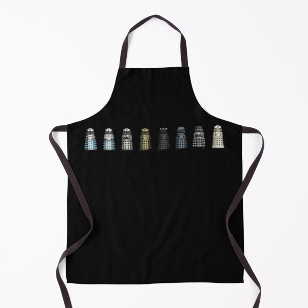 Tin Plated Pepper Pots – Front – Black Apron