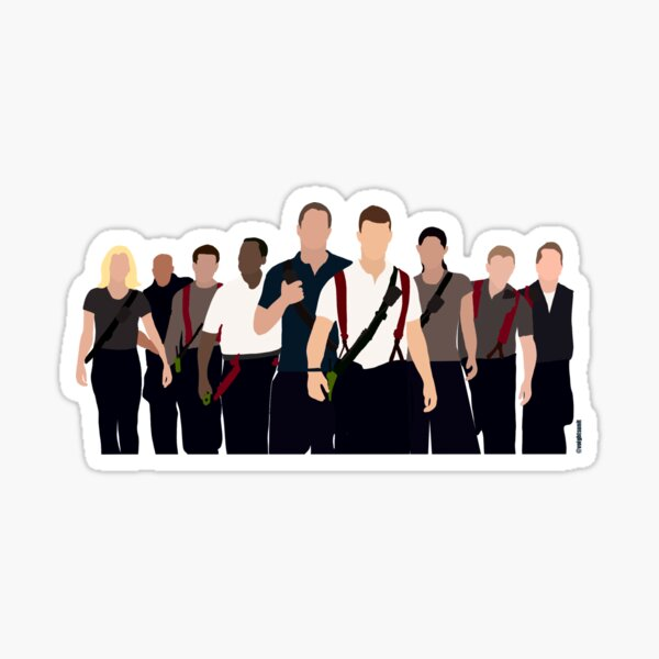 Chicago Fire Cast Sticker