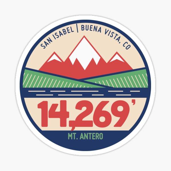Mt. Antero - Plains Color Sticker