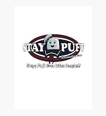 stay puft, logo, ghostbusters, movie, movie t-shirt Photographic Print