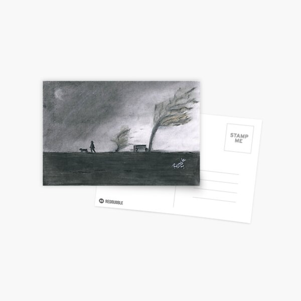 Walking Postcard