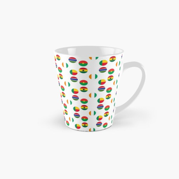 Flags of Western African Countries Collection Tall Mug