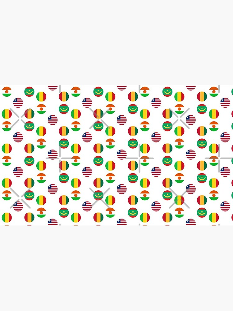 Flags of Western African Countries Collection by HandyBrandy