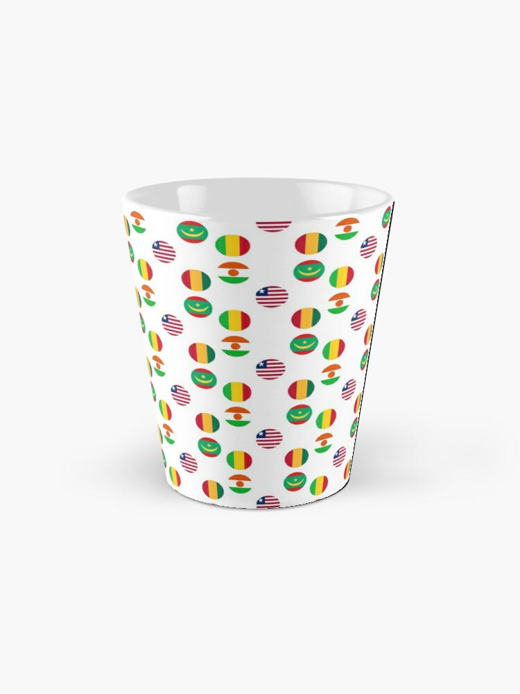 Alternate view of Flags of Western African Countries Collection Mug