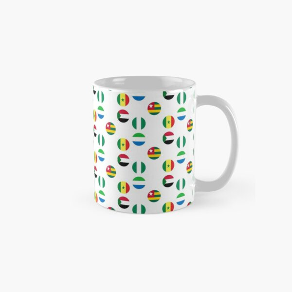 Flags of Western African Countries Collection Classic Mug