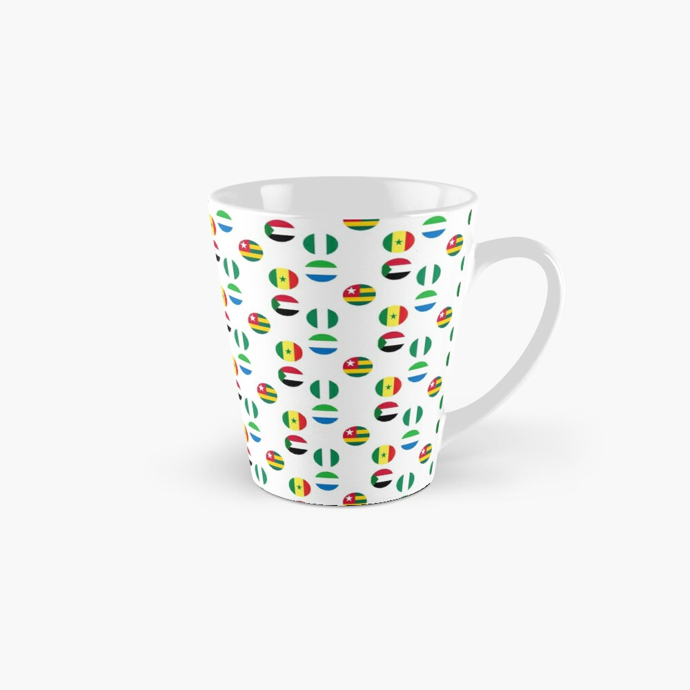 Flags of Western African Countries Collection Mug