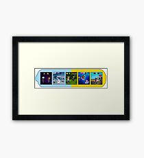 Daft Counting Framed Print