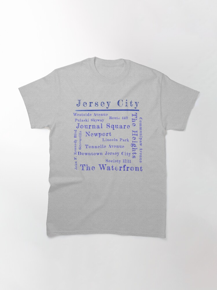 Alternate view of Jersey City Proud Classic T-Shirt