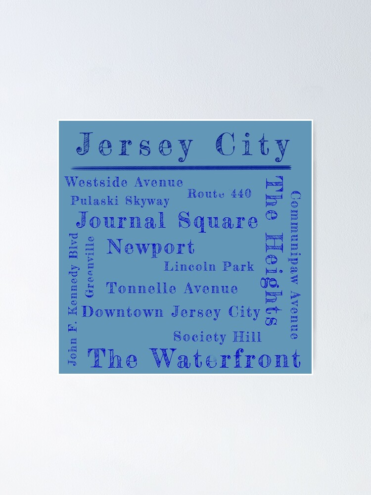 Alternate view of Jersey City Proud Poster