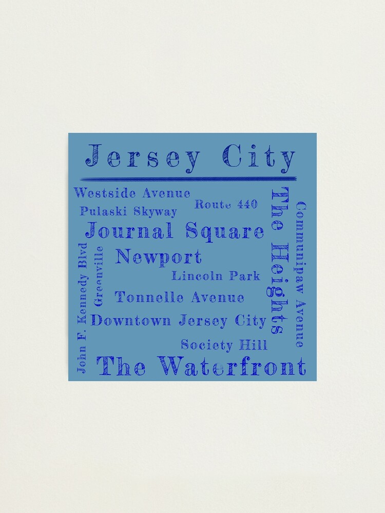 Alternate view of Jersey City Proud Photographic Print