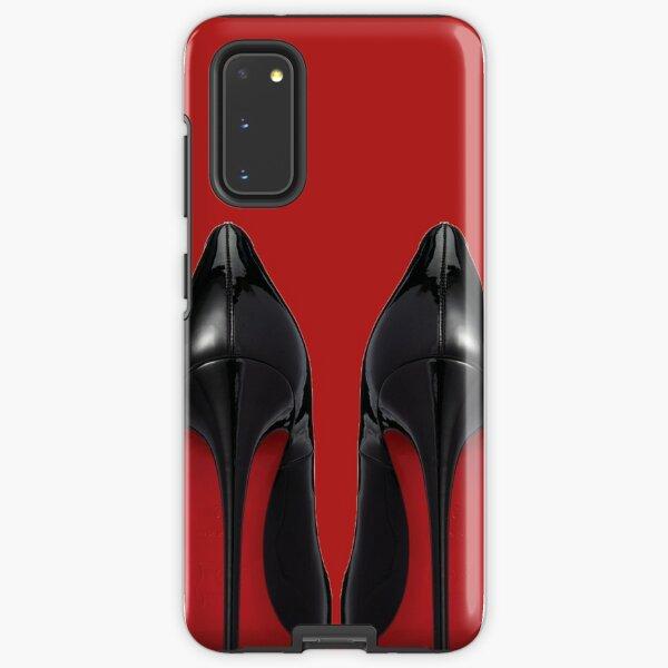 Red Sole Heels - Designer/Fashion/Trendy/Hipster Meme Samsung Galaxy Tough Case