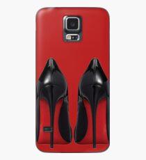Rote Sohle Heels - Designer / Mode / Trendy / Hipster Meme Hülle & Klebefolie für Samsung Galaxy