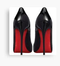 Red Sole Heels - Designer/Fashion/Trendy/Hipster Meme Canvas Print