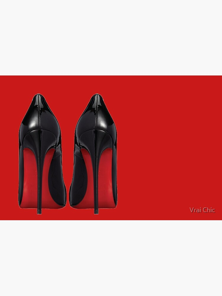 Red Sole Heels - Designer/Fashion/Trendy/Hipster Meme by vrai-chic