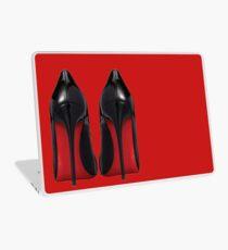 Red Sole Heels - Designer/Fashion/Trendy/Hipster Meme Laptop Skin